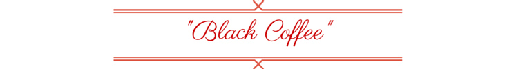 Coffee Tag Black