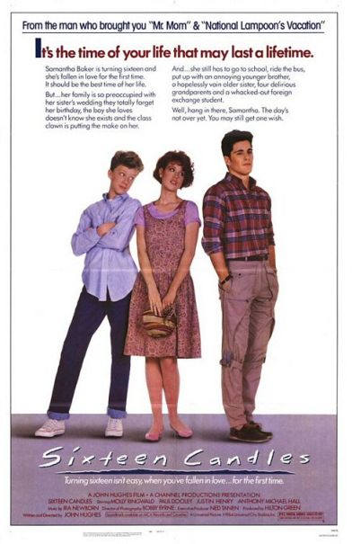 sixteen candles poster