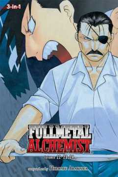 fullmetal alchemist 3-in-1 vol 8